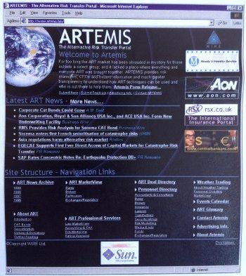 Artemis at launch