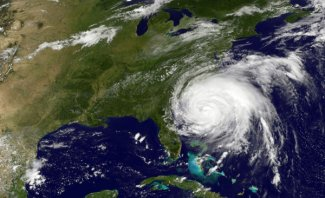 Hurricane Irene satellite image