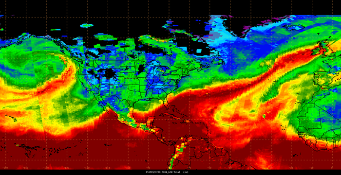 A classic Atmospheric River image