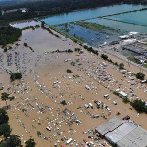 Louisiana flooding image from NBC