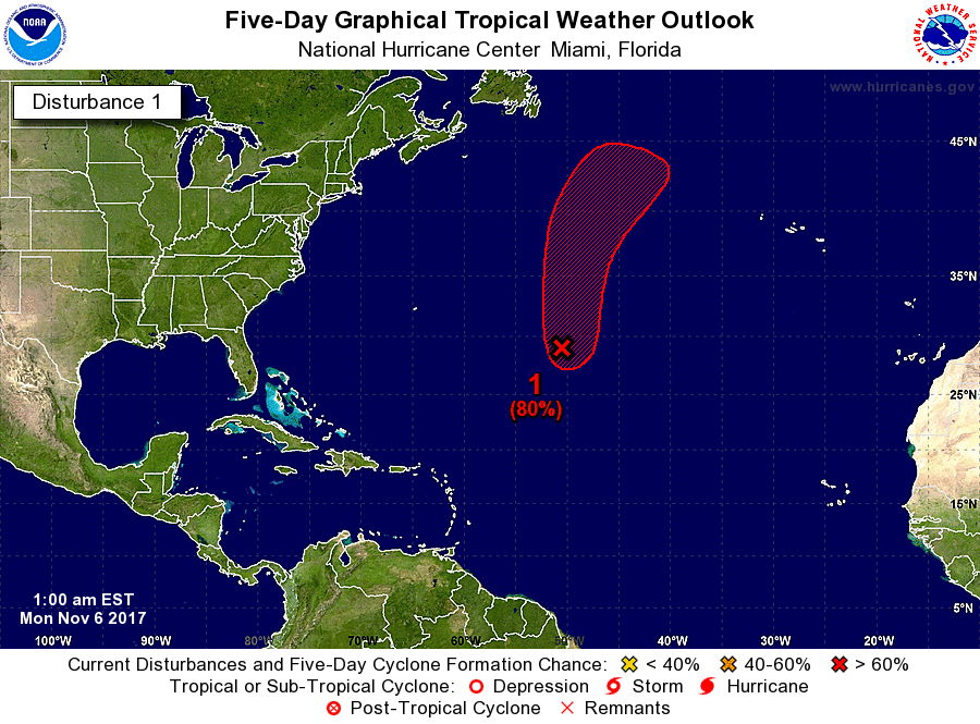 Invest 99L, potentially tropical storm Hermine, anticipated path