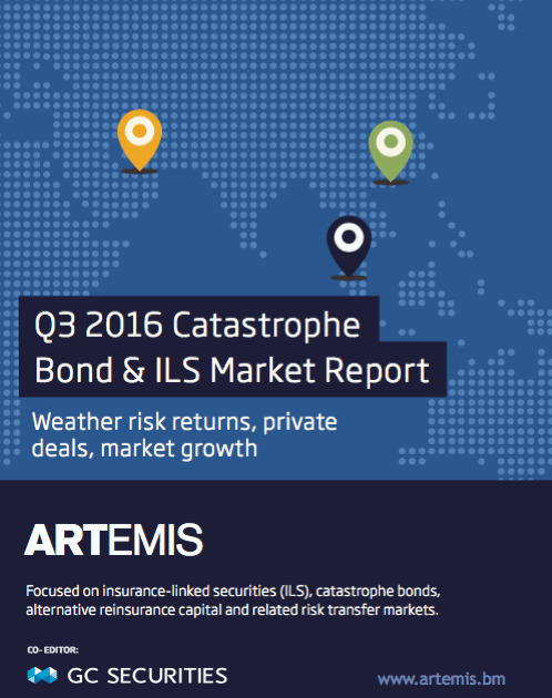Q3 2016 Catastrophe Bond & ILS Market Report