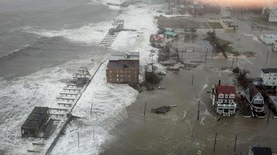 Hurricane Sandy storm surge