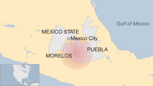 Mexico M7.1 earthquake