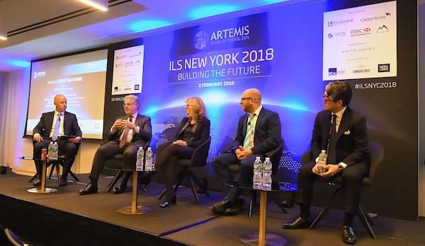 Artemis ILS NYC 2018 panel