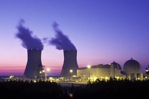 Nuclear plant image from Wikipedia