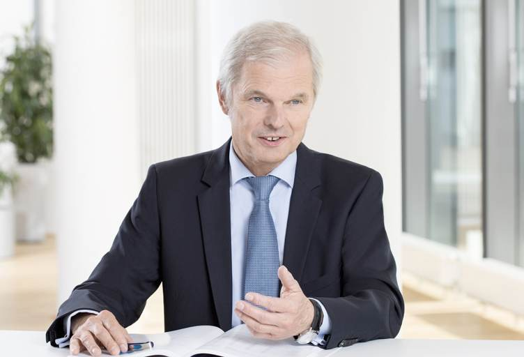 Ulrich Wallin, Hannover Re CEO