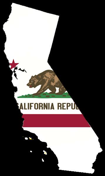 California flag map