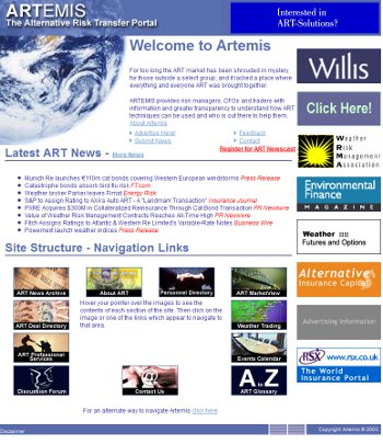 Artemis in 2004
