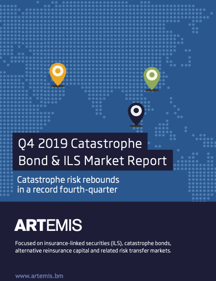 Q4 2019 catastrophe bond and ILS market report