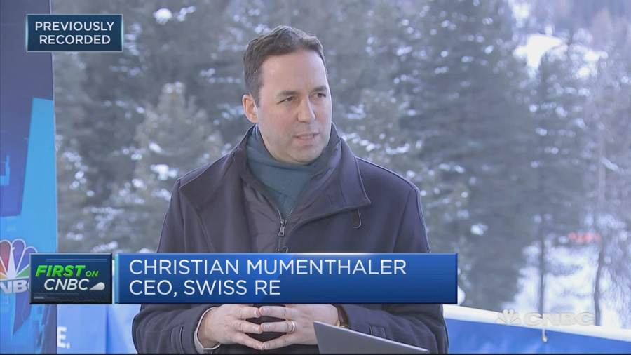 swiss-re-ceo-christian-mumenthaler-davos
