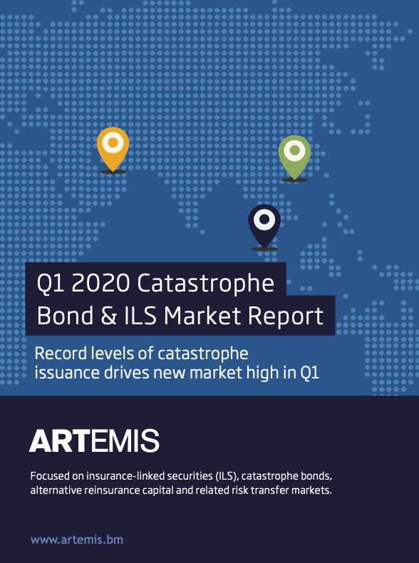 Q1 2020 catastrophe bond market report