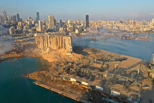 Beirut explosion Lebanon, insurance and reinsurance loss