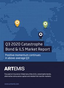 Q3 2020 catastrophe bond market report ILS