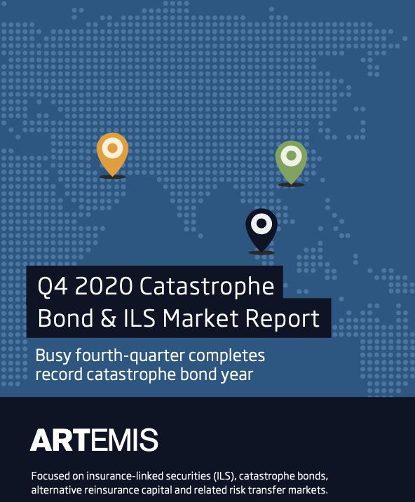 Q4 2020 catastrophe bond market report