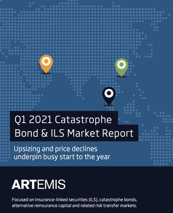 Q1 2021 catastrophe bond ILS market report
