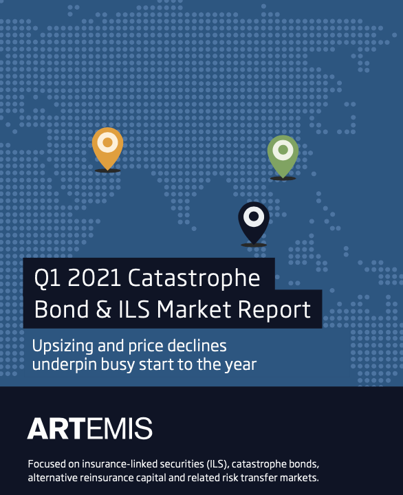 Q1 2021 catastrophe bond and ILS market report