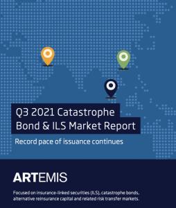 Q3 2021 catastrophe bond and ILS market report